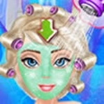 Elsa Freezing Makeover
