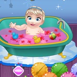 Elsa Kid Bathing