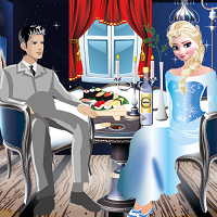 Play Elsa Romantic Dinner