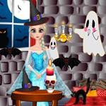 Elsa Halloween Room