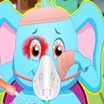 Jumbo Face Injury