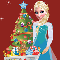 Play Elsa Christmas Shopping