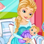 Elsa Gives Birth