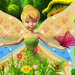 Tinkerbell in the Garden
