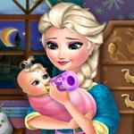 Elsa Kid Feeding