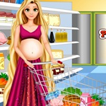 Rapunzel Food Shopping