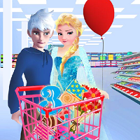 Play Elsa and Jack Party Prep
