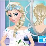Elsa Wedding Hairstyle