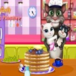 Tom Cooking Pancakes