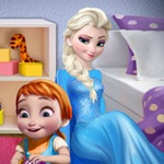 Elsa Playing with Anna