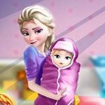 Elsa and Little Girl