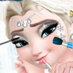 Elsa Wedding Make up