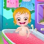 Hazel Bathing