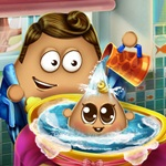 Pou Kid Wash