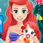 Ariel and her Little Girl