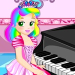 Juliet Piano Lesson