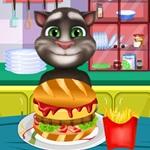 Tom Cooking Hamburger