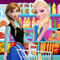 Play Elsa Grocery Store