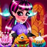 Draculaura Cupcakes Decoration