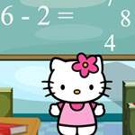 Hello Kitty Math Test