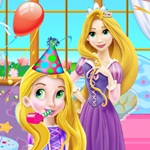Little Rapunzel Birthday Party