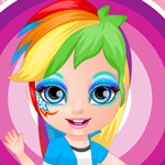 Little Barbie Face Painting