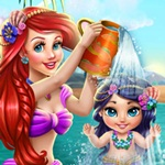 Ariel Kid Washing
