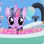 Twilight Sparkle Bubble Bath