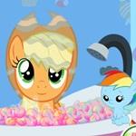 Apple Jack Bathing