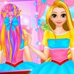 Rapunzel Wedding Hairstyle