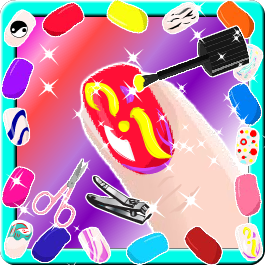 Play Nail Salon Princess Manicure