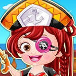 Hazel Pirates Dress up