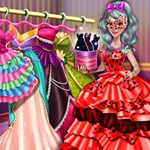 Dove Carnival Dolly Dress Up