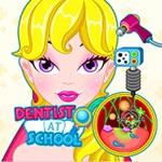 Dentist at school