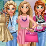 Rapunzel Shopping Day