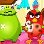 Angry Birds Meet Red Nurse
