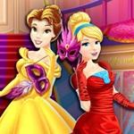 Princesses masquerade shopping