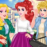 Princesses Back to College