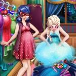 Ladybug and Elsa Wardrobe
