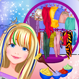 Hair Salon Fancy Girl Games
