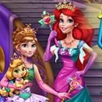 Anna And Ariel Dress up