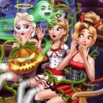 Spooky Cabin Halloween