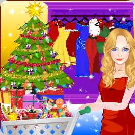 Play Princess Christmas Shopping