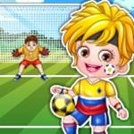 Hazel Football Player Dress up