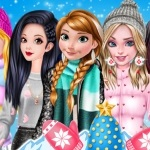 Princesses Fashion Puffer Jacket