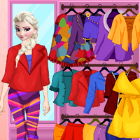 Play Elsa Fresh Spring Dress Up