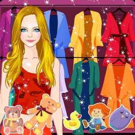 Princess Dress up and Hair Salon - Pajama Fashion