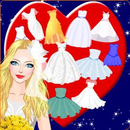 Play Beach Wedding Games - Princess Dress up