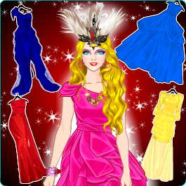 Play Funky Prom Fashion - Dress up games